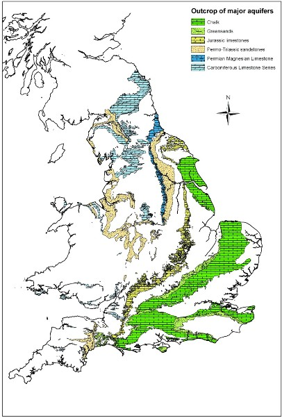 aquifers in England and Wales