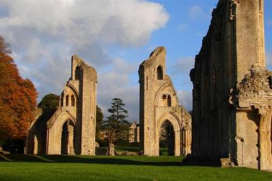 avalon Glastonbury Abbey Ruins IV _Medium_