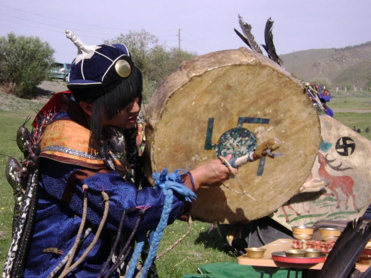 Shaman in the trance