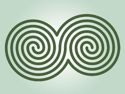 double-spiral