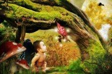 babysitting a baby fairy by bebydenden