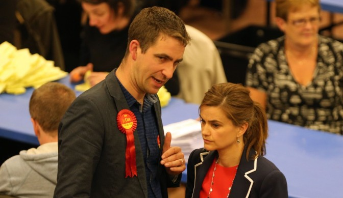 General Election Count at Cathedral House, Huddersfield - Batley & Spen Labour candidate Jo Cox.