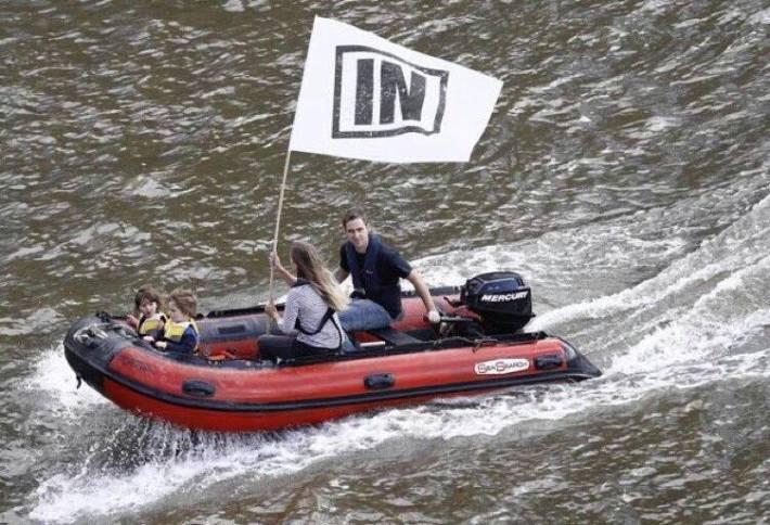 Jo and Brendan boat
