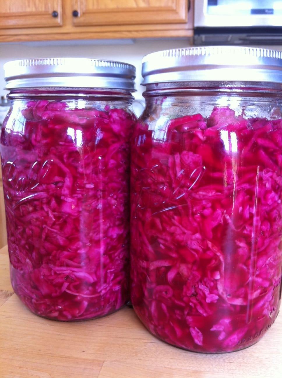 vitamin c in sauerkraut