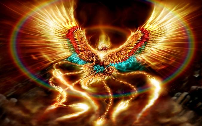 Phoenix wallpaper from Alpha Coders